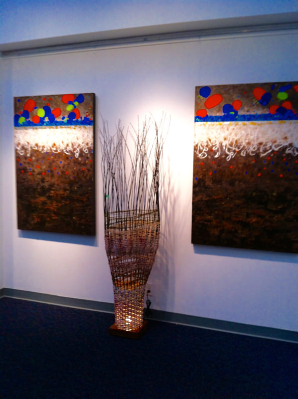 """Elements of Influence"" Exhibit Vancouver 2013"